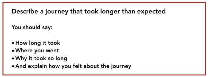 long-journey-ielts-part-2