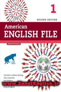 دانلود رایگان کتاب American English File 1