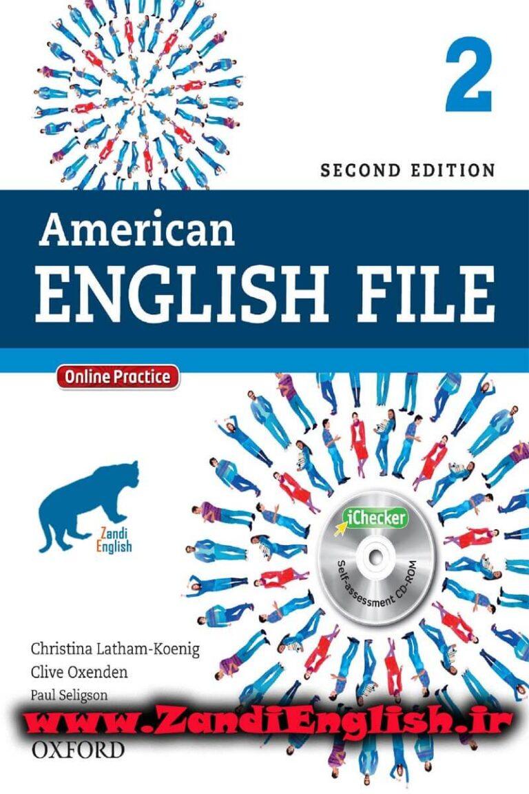 دانلود رایگان کتاب American English File 2