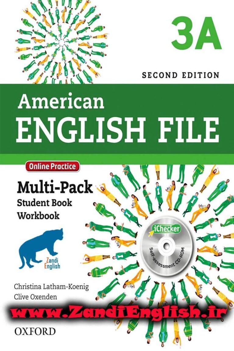 دانلود رایگان کتاب American English File 3