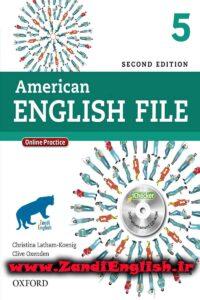 دانلود رایگان کتاب American English File 5