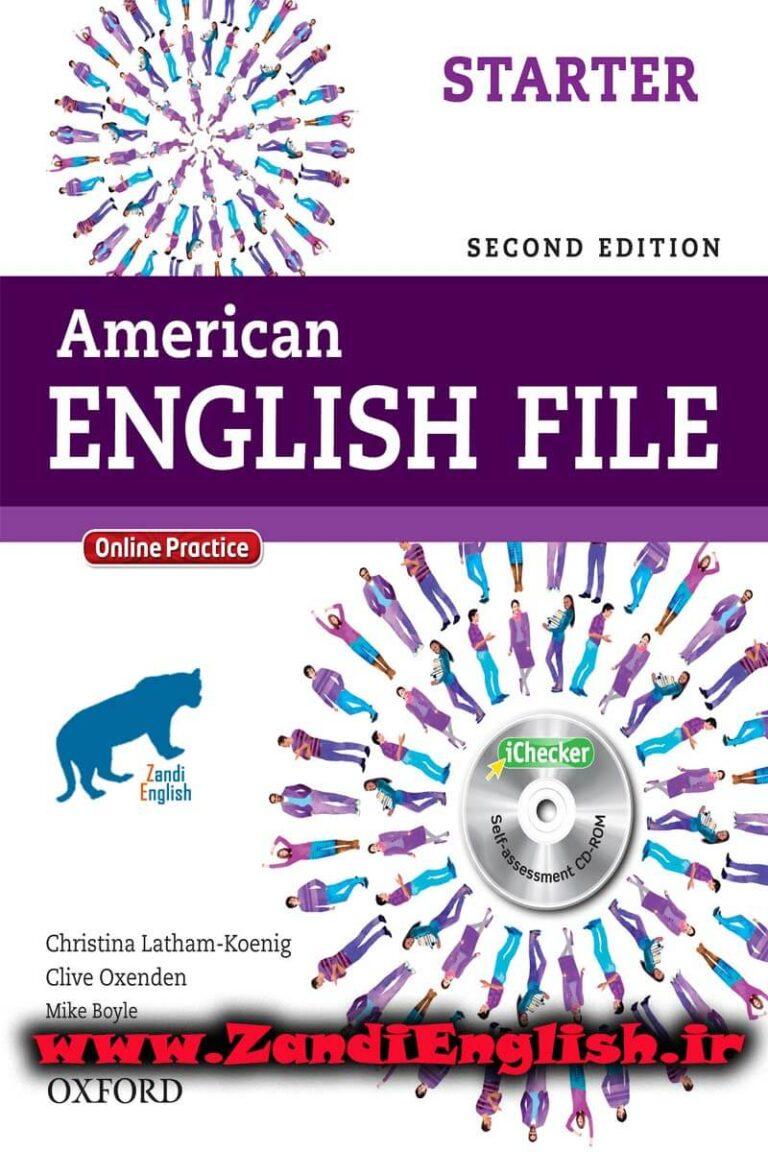 دانلود رایگان کتاب American English File Starter
