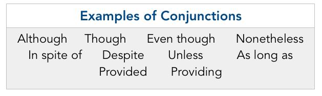 مثال برای conjunction