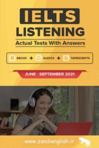 دانلود کتاب IELTS Listening Actual test 2021
