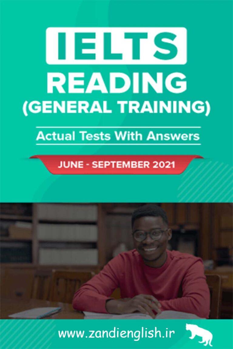 دانلود کتاب IELTS Reading Actual test 2021