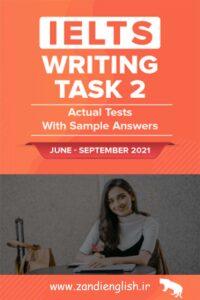 دانلود کتاب IELTS Writing Actual test 2021